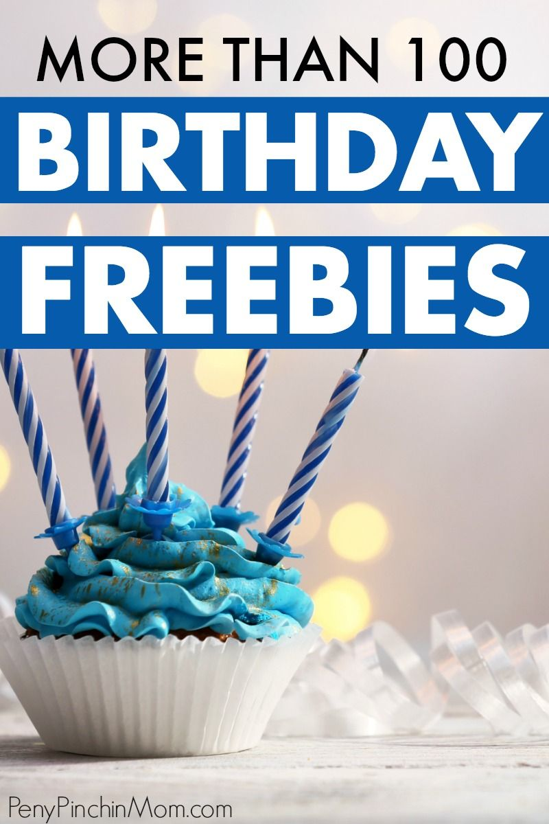 Lots of fun free things you can get on your birthday. You