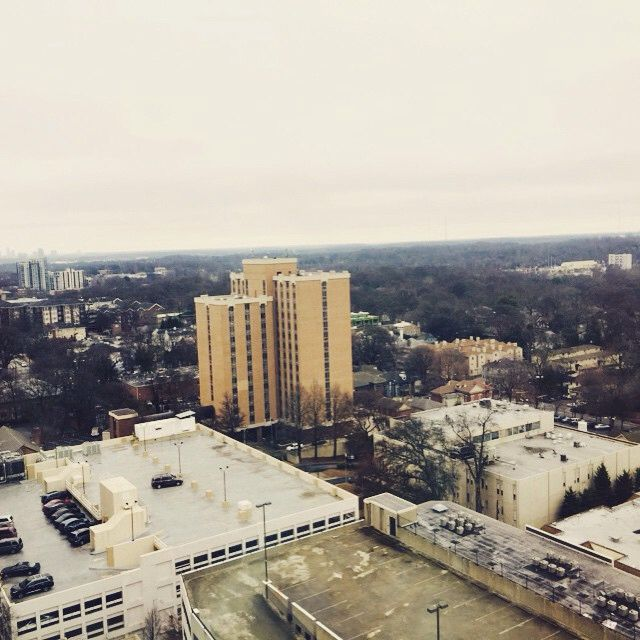 Atlanta view ,This is where Priyanka is staying for the shoot.