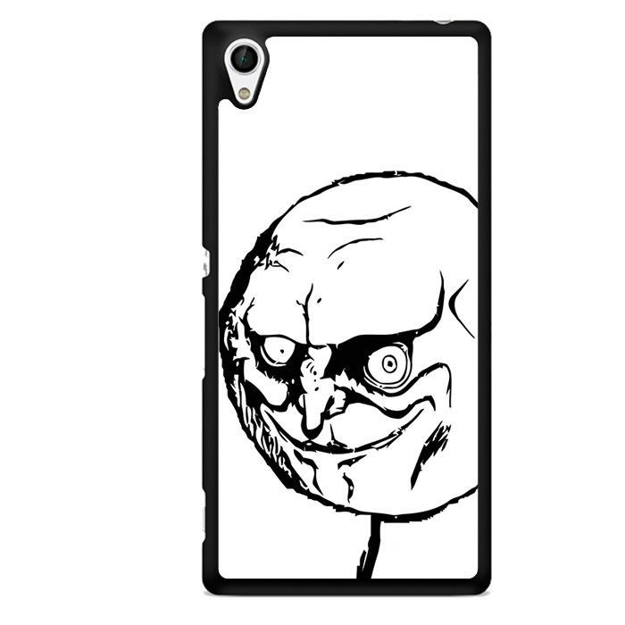 Rage Comic Face TATUM-9108 Sony Phonecase Cover For Xperia