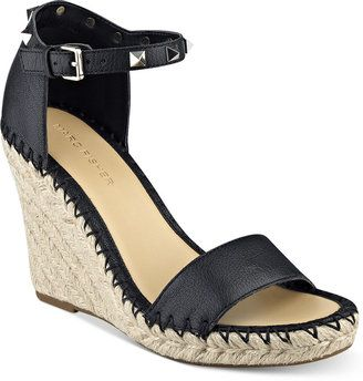 836467c7868 Marc Fisher Kicker Two-Piece Wedge Sandals Women s Shoes  wedge ...