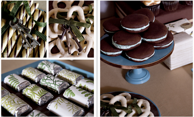 Alice in Wonderland dessert table for Nonpareil Magazine