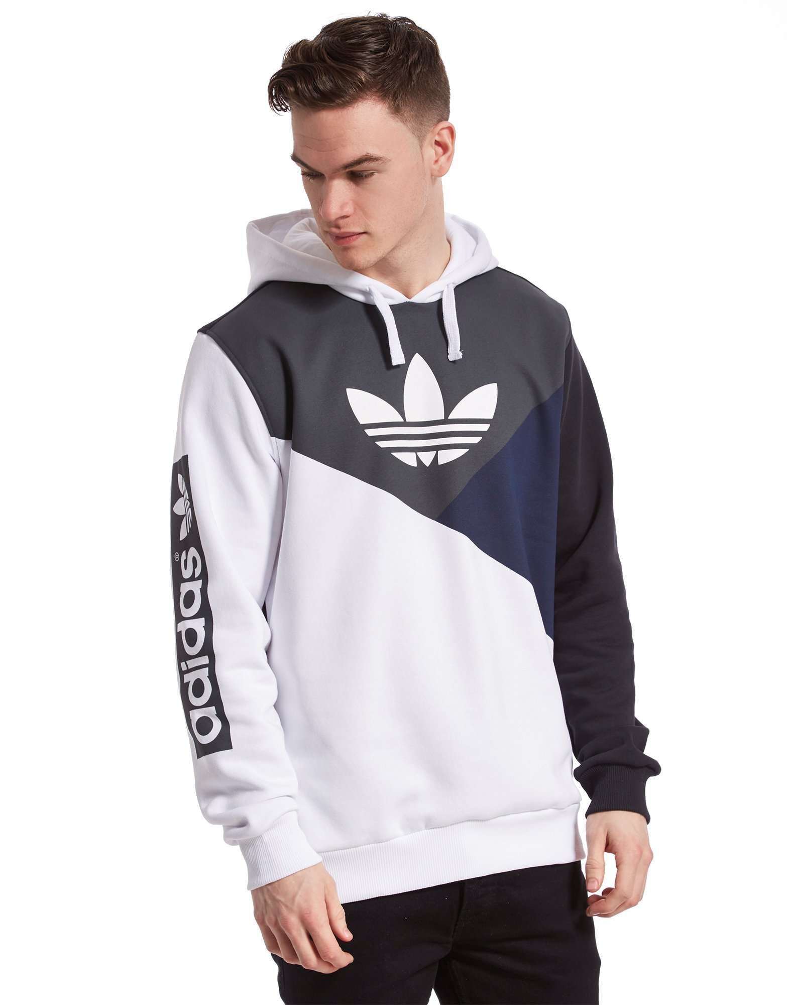 adidas Originals Trefoil Diagonal Hoody | JD Sports