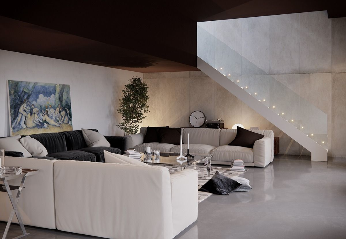 7 Stylish Living Rooms Design Shows Modern Shades | Design trends ...