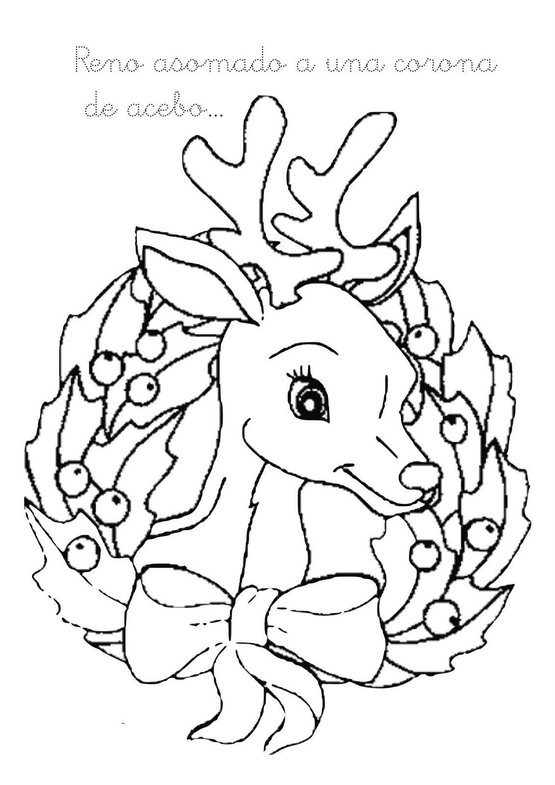 Bilder für kinder ausdrucken und online Parteien Weihnachten 269