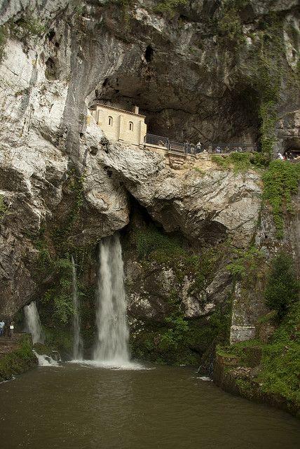 Santuario de Covadonga by alvarogalve, via Flickr
