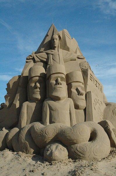 Weston Sand Sculpture Festival
