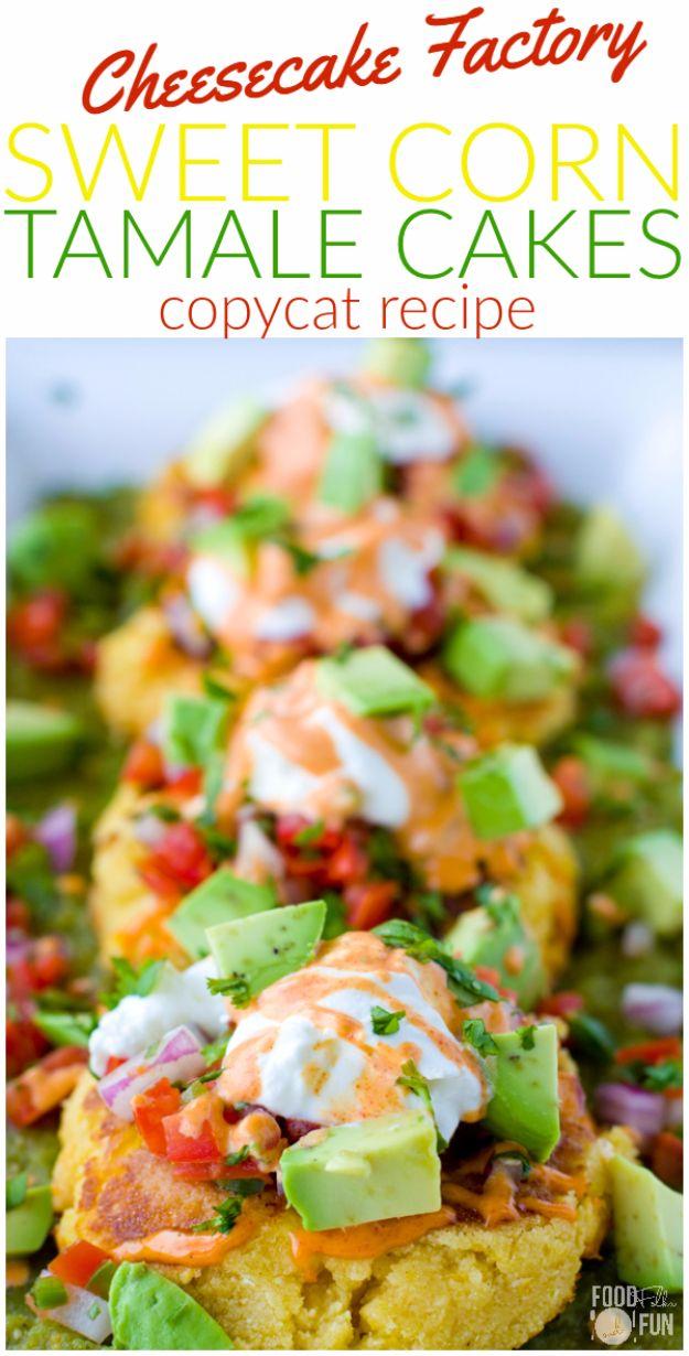 50 Copycat Recipes from Your Favorite Restaurants #cheesecakefactoryrecipes