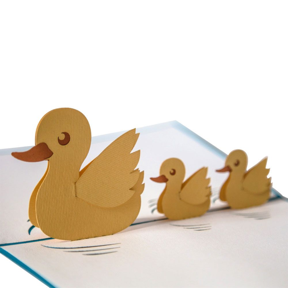 Ducklings baby cards babies and cards