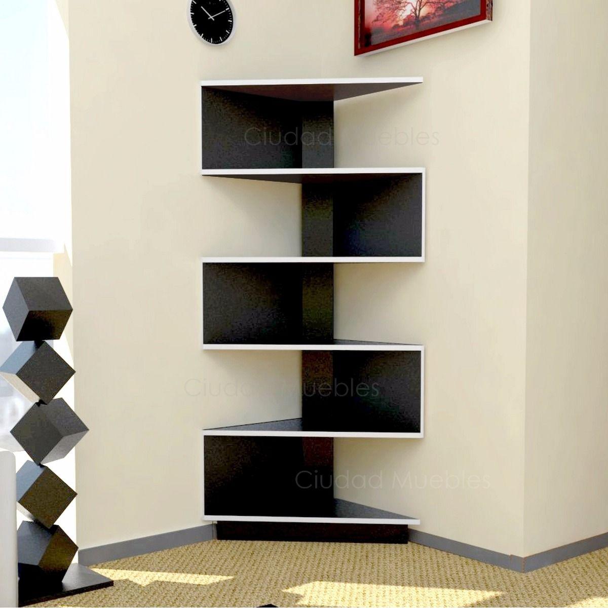 Modular mueble esquinero moderno dise o minimalista unico for Diseno de muebles de madera