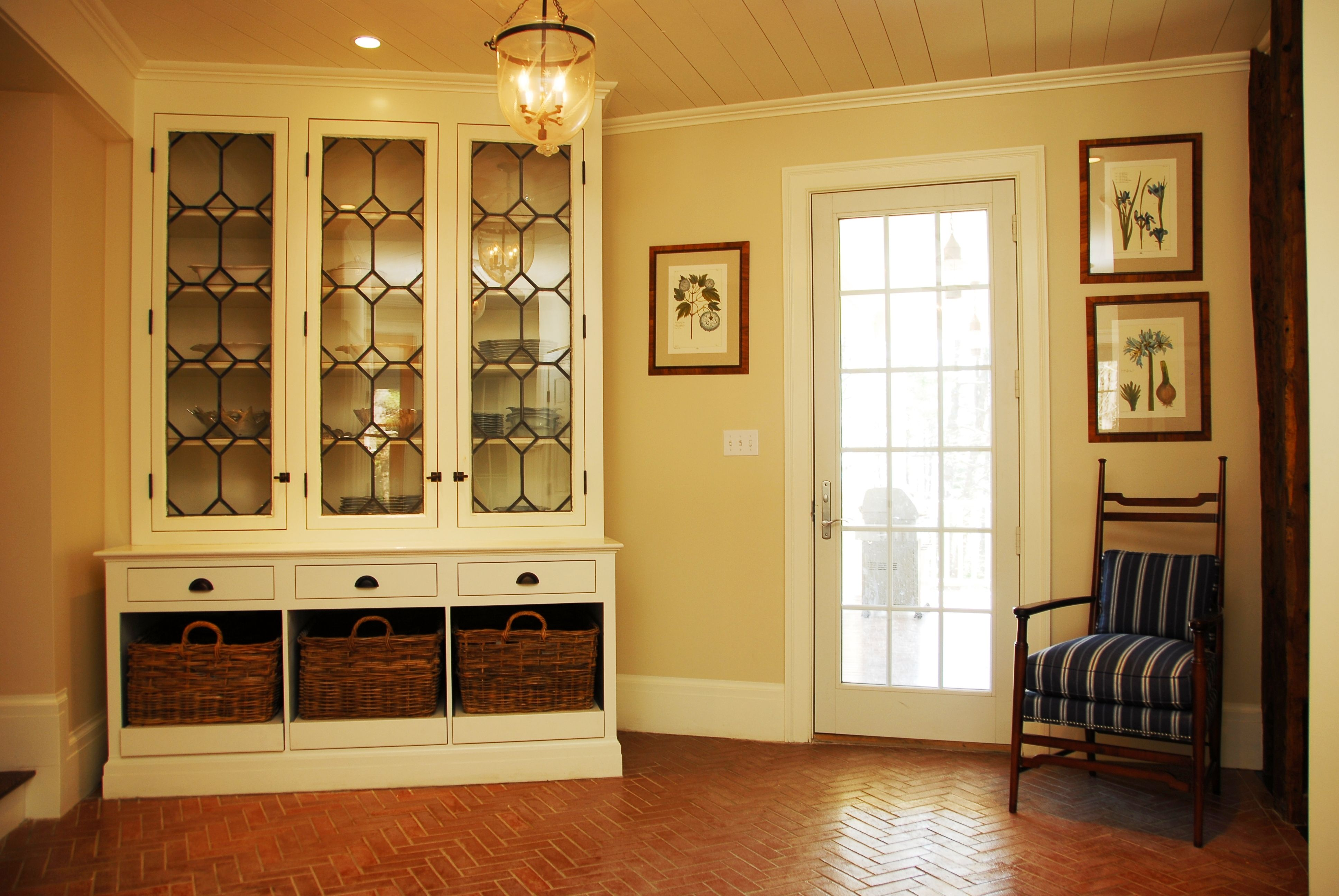 S Fe Custom Dining Room Cabinet: Custom Cabinet Using Salvaged Doors