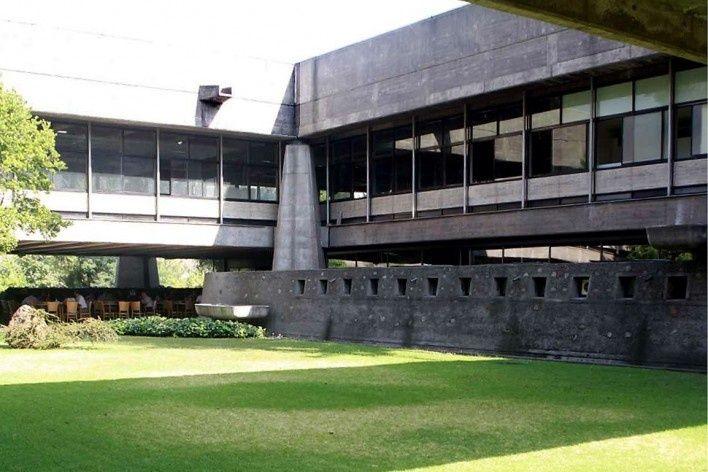 Edifício Cepal, vista frontal. Projeto original Emilio Duhart, Santiago do Chile