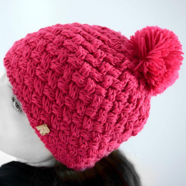 39c87d7a373a Comment tricoter bonnet en laine pompon   Espaceflirey