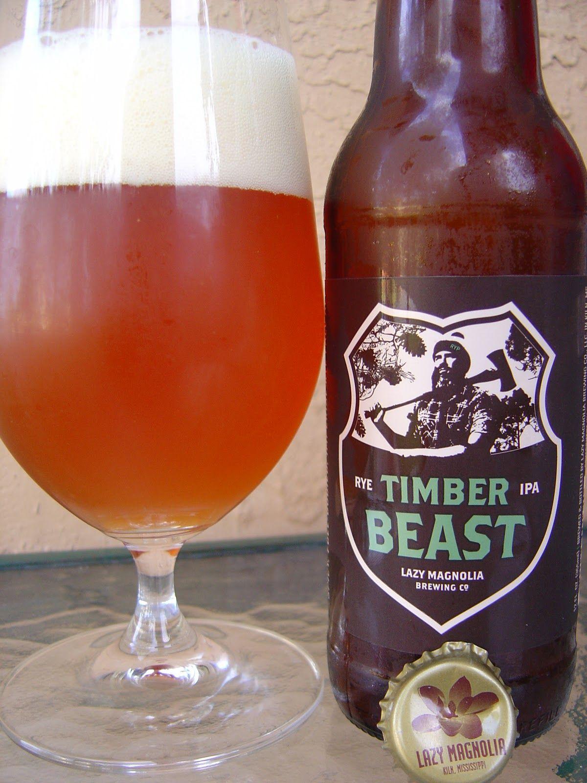 Lazy Magnolia Timber Beast Beer Ipa Craft Beer Breweries