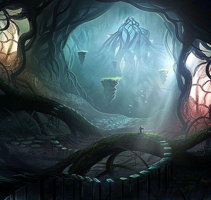 Fantasy Landscape Wallpaper: Breathtaking Fantasy Landscapes & Scenery