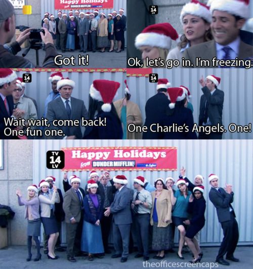 classy christmas - The Office Classy Christmas
