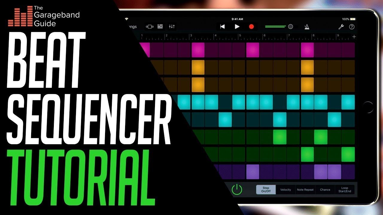 Garageband beat sequencer tutorial extra resource for the