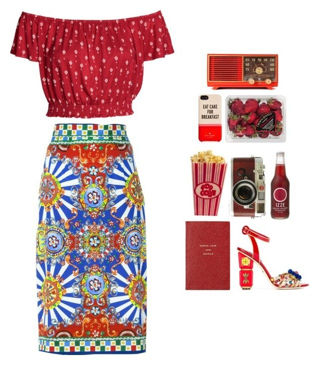 """Hold Up x Beyonce"" by nauticajanaee ❤ liked on Polyvore featuring Kate Spade, FRUIT, Smythson, Leica, H&M, Dolce&Gabbana, GetTheLook, contestentry and fashionset"