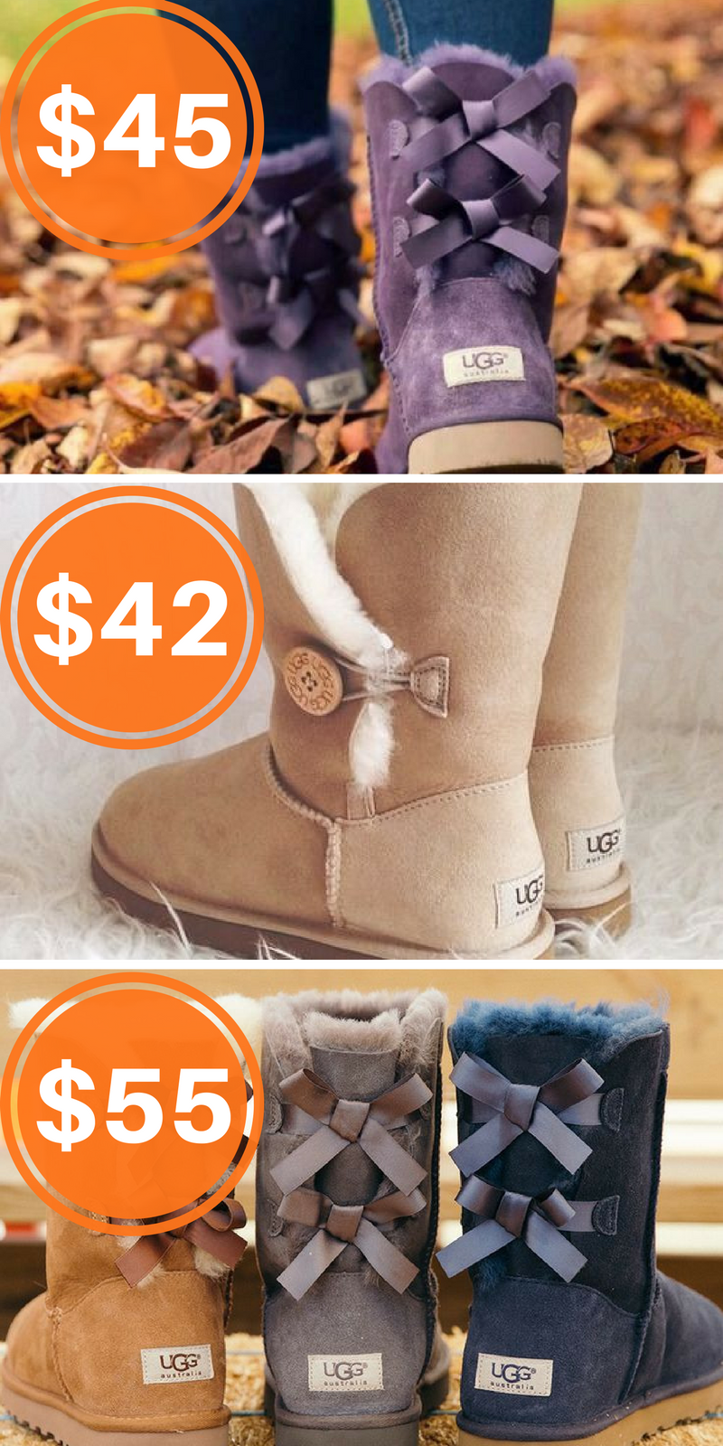 d9a25a482ab Shop Ugg Australia boots at up to 70% off when you download the FREE ...