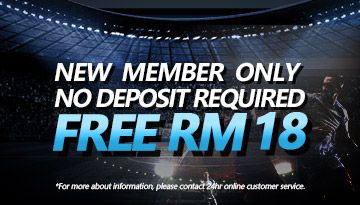 New Member only no deposit required Free RM18