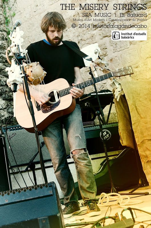 Misery Strings | Sea Music | Es Baluard. Museu d'Art Modern i Contemporani de Palma. Organizado por el Institut d'Estudis Baleàrics. Fotografías del Concierto por Héctor Falagán De Cabo | hfilms & photography. Mallorca, Islas Baleares, España. 3 de octubre de 2014.