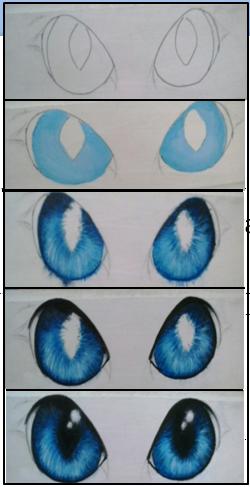 Como Pintar Ojos De Gato Con Acrilicos Ojos De Gatos Dibujos Ojos De Animales Pintar Ojos