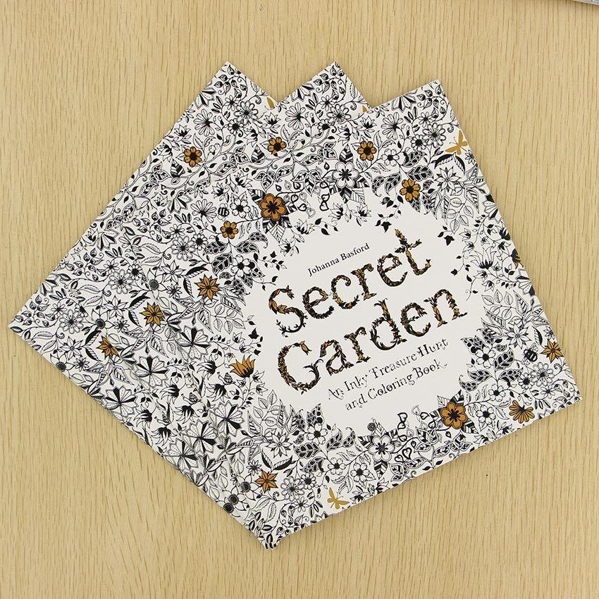 Secret Garden Coloring Books English Edition