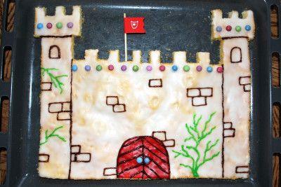 ritterburg-kuchen | kindergeburtstag ritter, rittergeburtstag