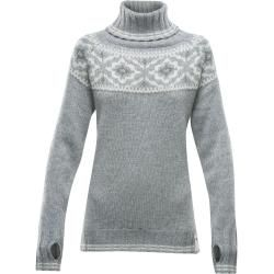 Photo of Devold Ona Woman Round Genser | Xs, s, m, l, xl | Grå | Damer Devold
