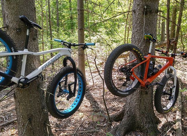 LAUF CARBONARA.  Custom rideFATbikes.ca carbon fat bikes.  Agreement Forest.