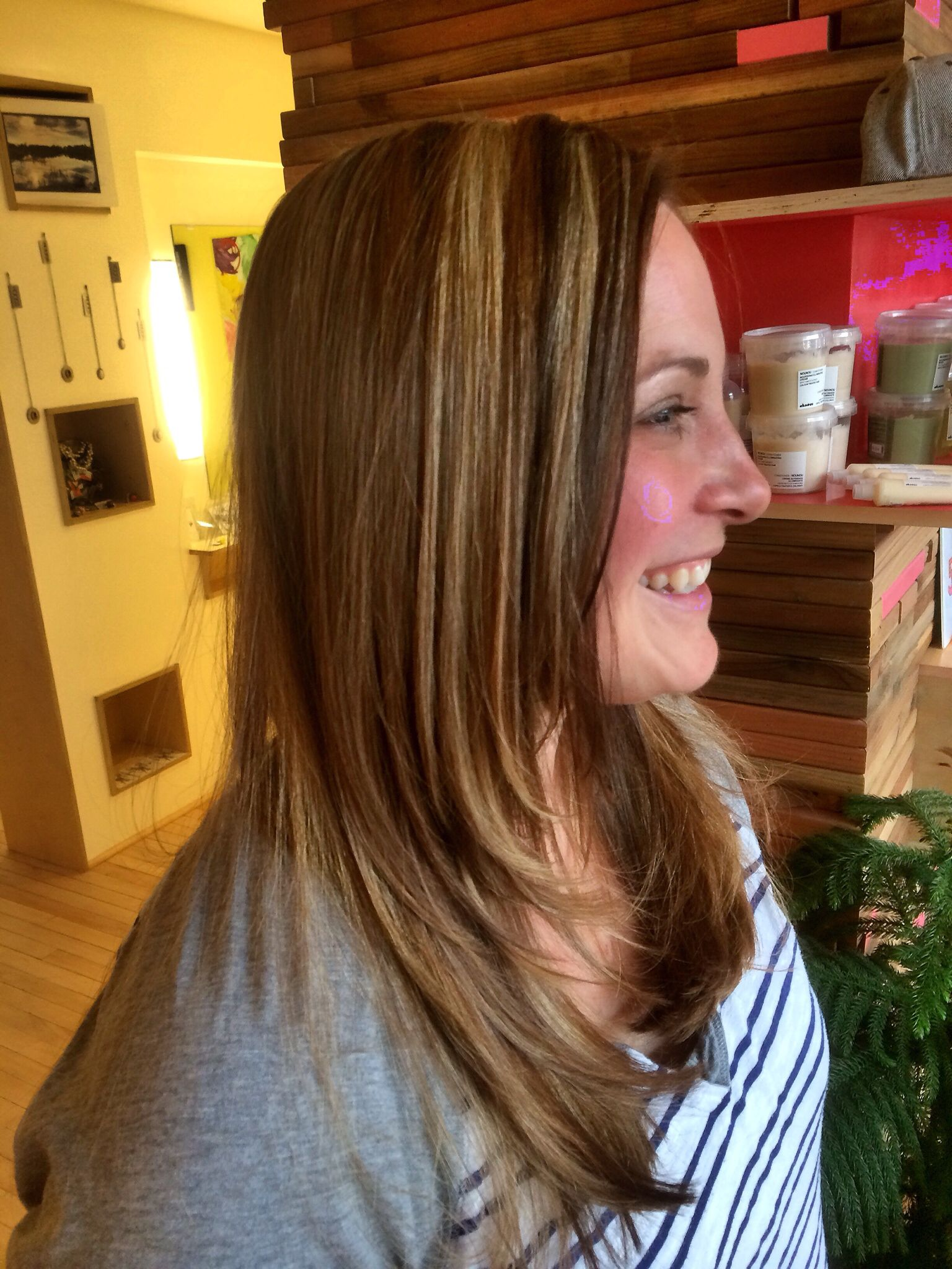 Cut And Color By Master Stylist Amber Vitale At My Hair Trip Salon