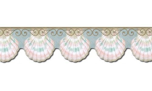 Contemporary PT40006B Wallpaper Border Mermaid