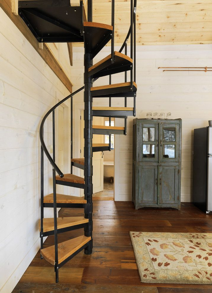Basement Stair Designs Plans spiral staircases are always a wonderful way to save some space