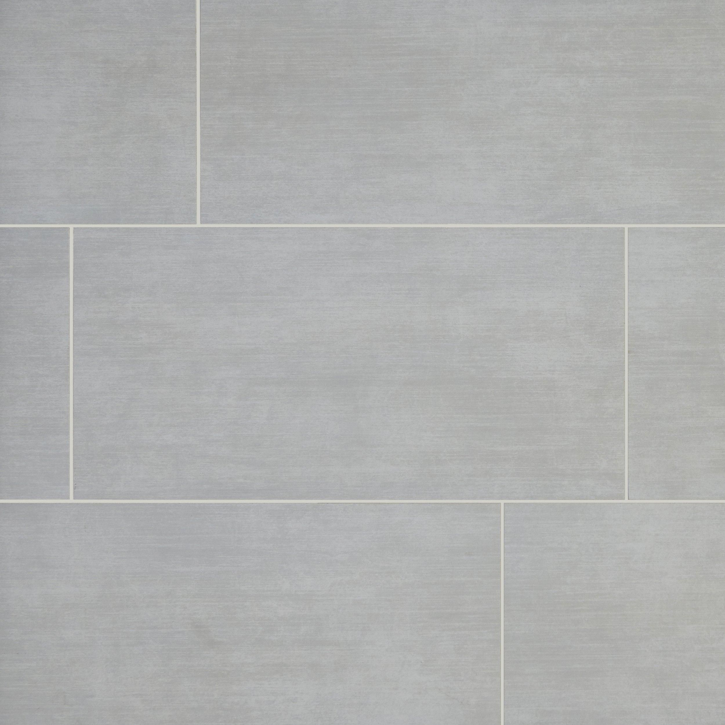 Brush Stroke Nickel Porcelain Tile In