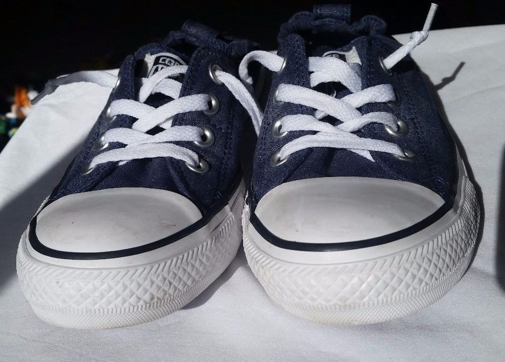Women's Converse All-Star Chuck Taylor Shoreline Denim Canvas Shoes, Size 8 US #VANS #SkateShoes