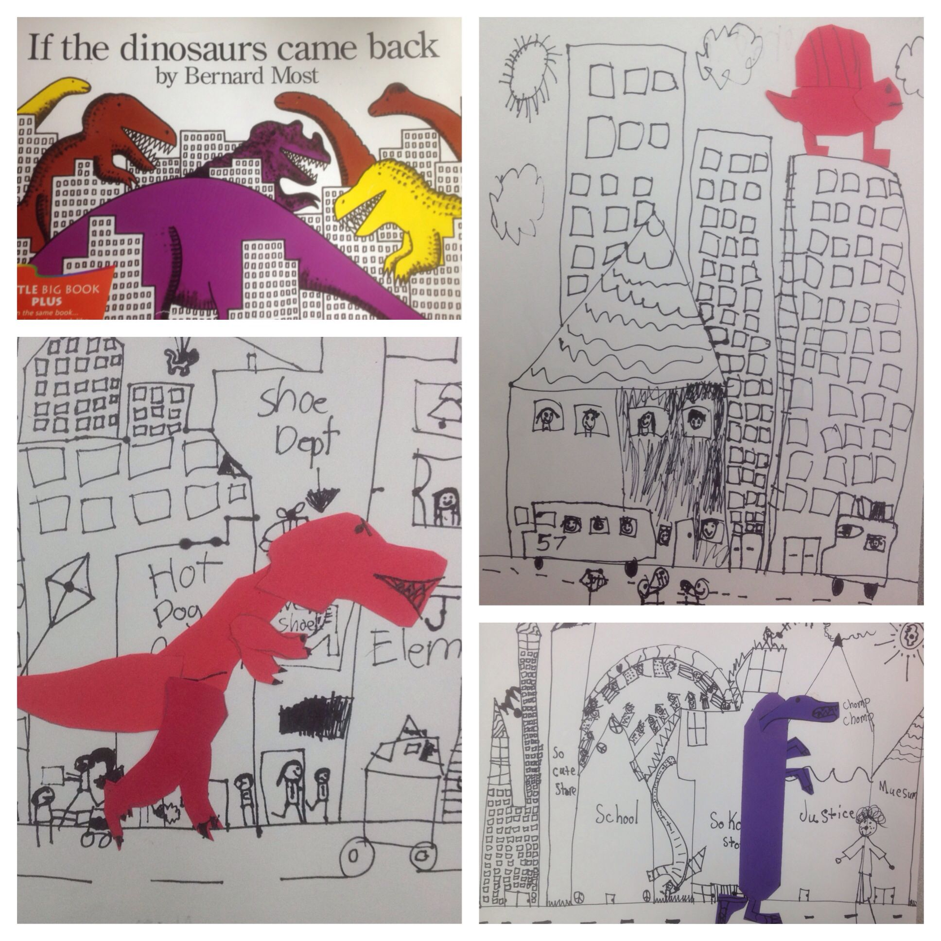 1st Grade If The Dinosaurs Came Back By Bernard Most
