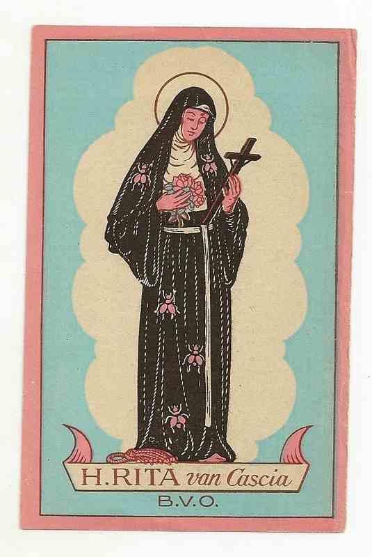 St Rita of Cascia, pray for us!