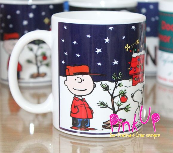 Caneca Do Snoopy Natal