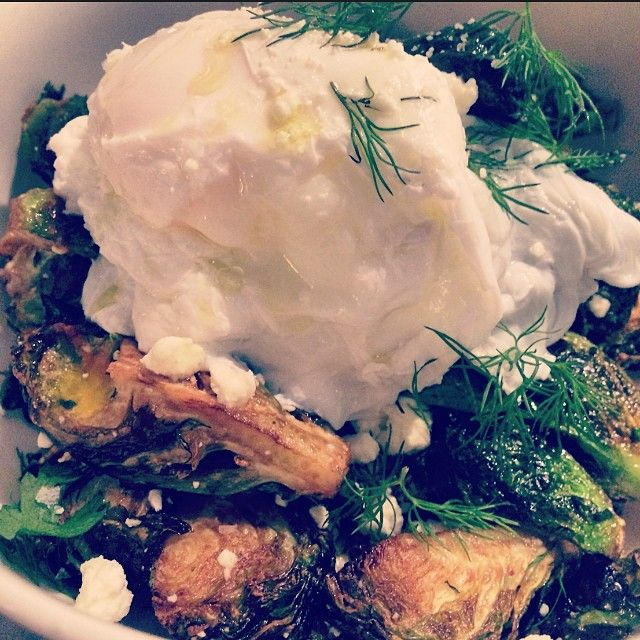 """""""Dinner Special: Crispy Brussels Sprouts Cruiser 