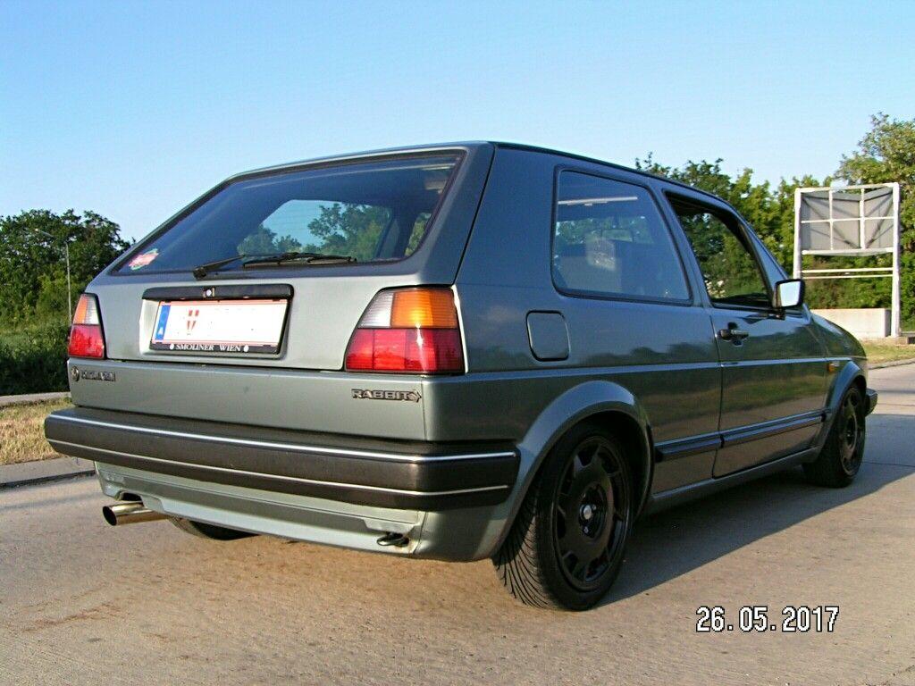 Vw Golf Mk 2 Jadegrun Renault Speedline 6 5x15 165 50 15