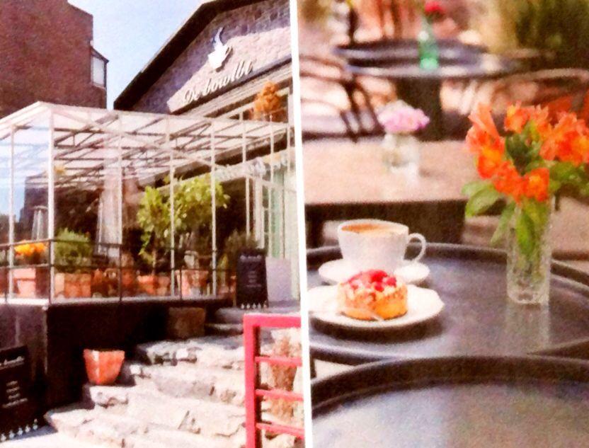 카페 드 볼비 cafe de vowlbi ; 플라워 카페 - 서울시 마포구 어울로마당로 15