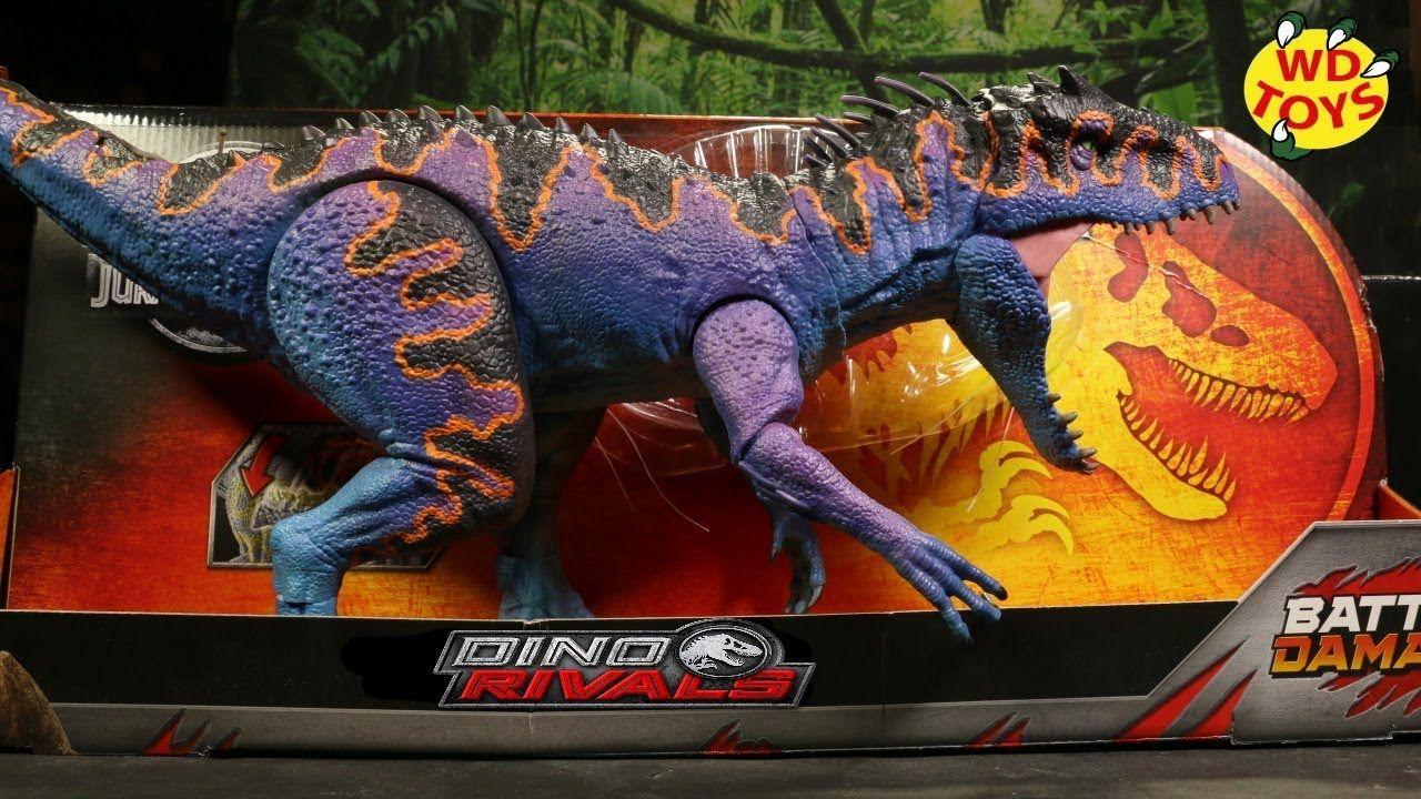 Mattel Jurassic World Dino Rivals DESTROY N DEVOUR INDOMINUS REX T-REX KIDS TOY