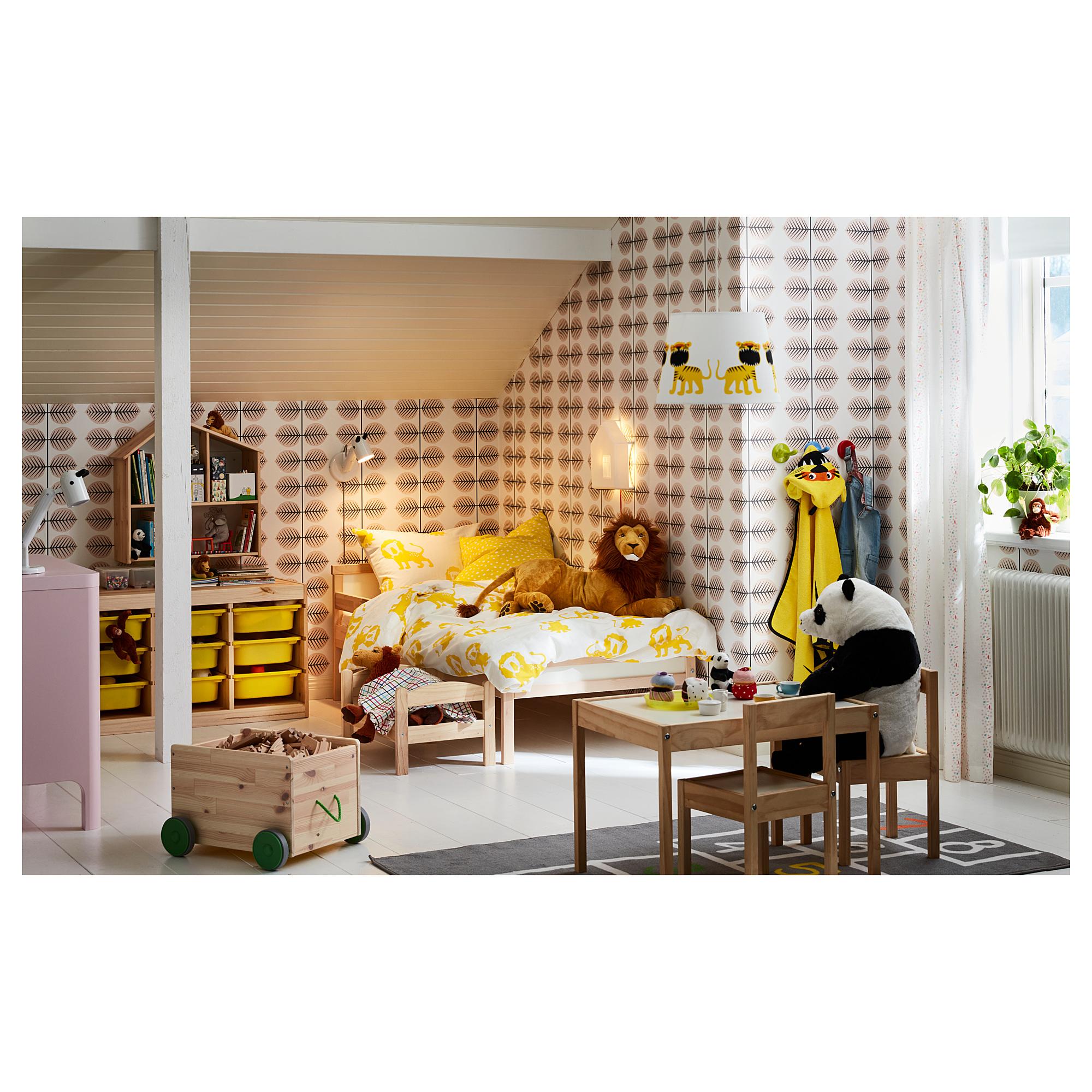 Ikea Sniglar Bed Frame With Slatted Bed Base Beech Bed Frame