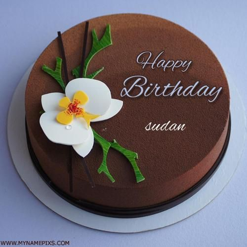 Send Happy Birthday Wishes By Writing Name On Cake