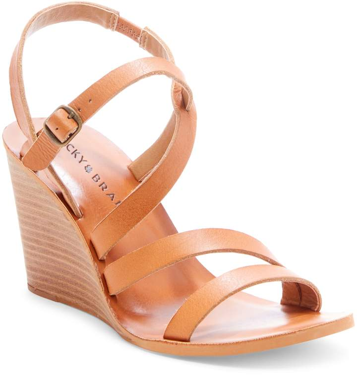 918c333fee4 Lucky Brand Noemia Wedge Sandal | Products in 2019 | Wedges, Womens ...