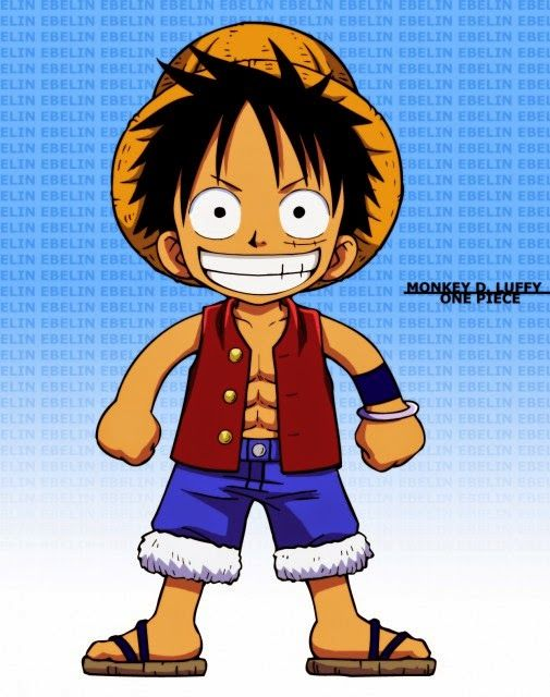 Cute Monkey D Luffy Wallpaper Download Seni Gambar