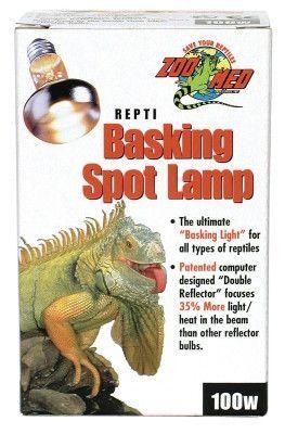 Zoo Med Repti Basking Spot Lamp 100w Reptiles, Reptile