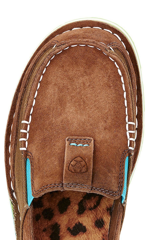 Ariat Cruiser Women's Palm Brown Moc Shoe | Moccasins
