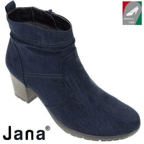 Jana női bokacsizma 8-25371-29 805 kék  c36b2c833b