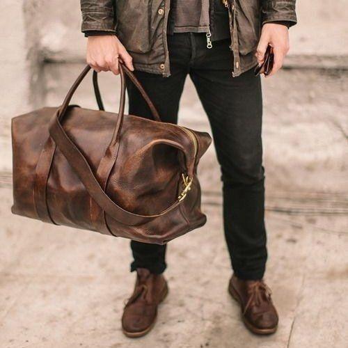 2369d4fea Original Leather Duffle by Cavalier | Stylish | Fashion, Bags ...