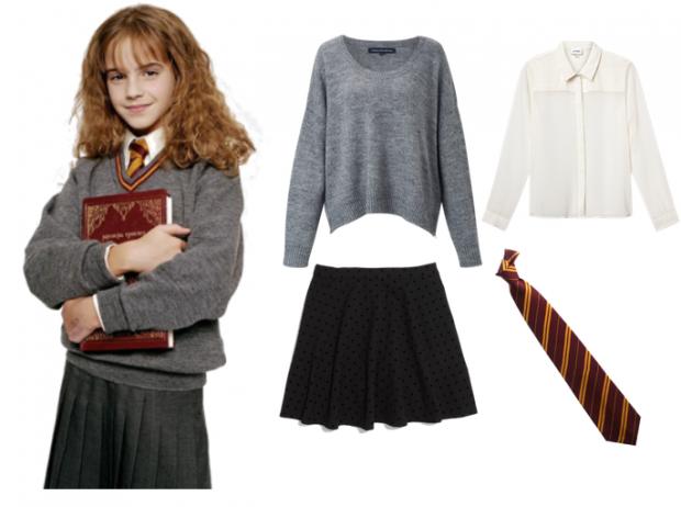 Costume Halloween Hermione.Frugal Fashionista 5 Simple Diy Costumes Kids Random Likes In